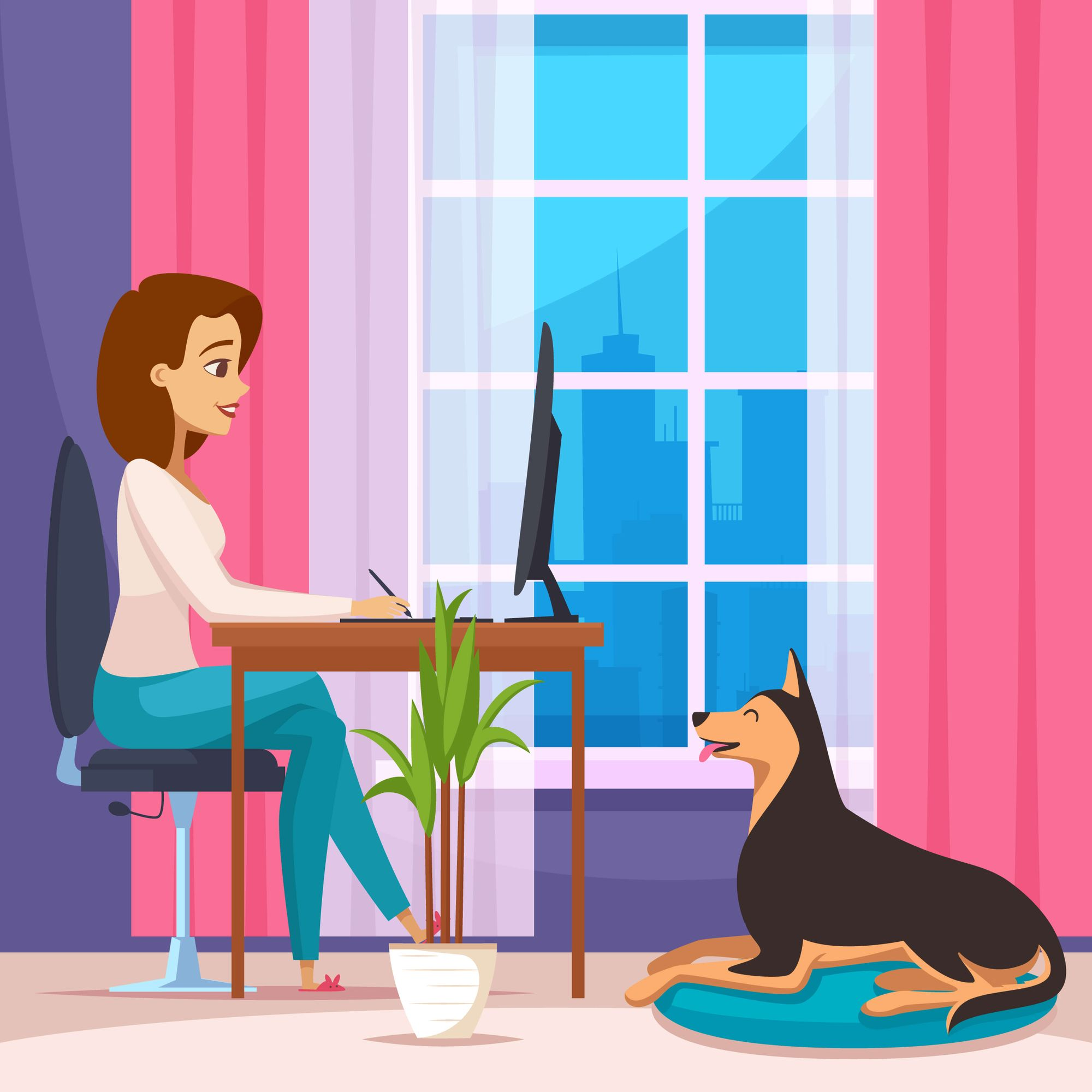 "Can you really ""Work from home""?"